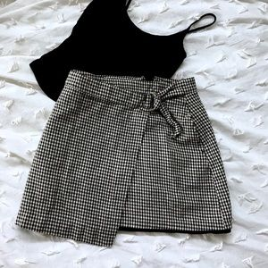Forever 21 90's Style Checkered Skirt